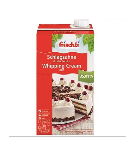 Сливки натуральные Frischli 35%