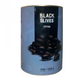 Оливки черные целые б/к 4 кг