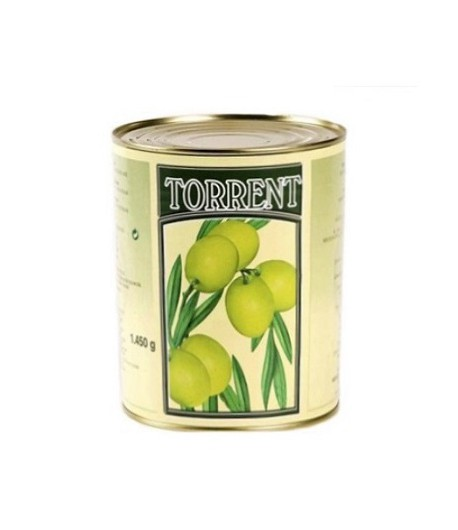 Оливки Torrent с косточкой 3150 гр