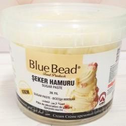 Сахарная мастика Blue Bead бежевая 1 кг