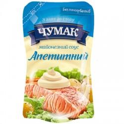 Майонез соус Апетитний 30% ТМ Чумак 550г