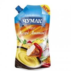 Соус  Кари-ананас ТМ Чумак 200г