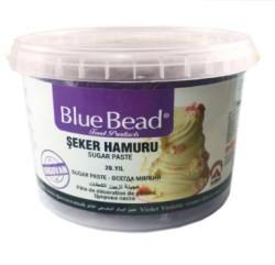 Сахарная мастика Blue Bead фиолетовая 1 кг