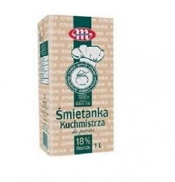 Сливки натуральные Smetanka 18%