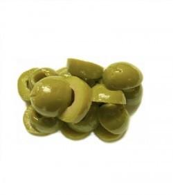 Оливки зеленые резанные 4 кг